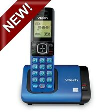 NEW RED/BLUE/ SILVER Cordless Phone w/Caller ID/Call Waiting For  magic jack