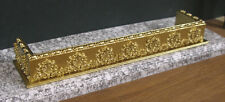 FIREPLACE  FENDER ~ for CARVED  FIREPLACE ~ for  Barbie ~ 1:6 scale ~ Gold