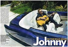 Coupure de presse Clipping 2012 (8 pages) Johnny Hallyday