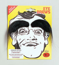 EYEBROWS BLACK FOR FANCY DRESS ACCESSORY
