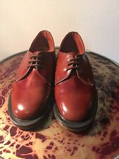 Doc Martens new old stock,made in England,leather uppers,Tan antique rub off UK3