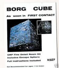 Star Trek Borg Cube Resin Kit Warp Models Large 200mm x 200mm x 200mm