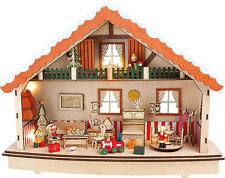 """Reloj de música """"Noche Paz"""" en la casa Navidad Advento con Iluminación nuevo"""