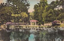 PA postcard South Sterling The Sterling Hotel pool & grounds Poconos handcolored