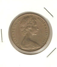 1967 Australia 20 cents coin very high Grade!lustre!