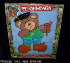 VINTAGE 1986 FURSKINS TEDDY BEAR 10 PIECE KIDS 3D PLASTIC PUZZLE IN BOX TALBOT