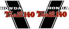 """CT70H Trail CT70HKO 140cc frame decals, graphics, Stickers.    CUSTOM """"TRAIL140"""""""