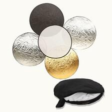"Durable 60CM 24"" 5 in 1 Light Multi Photo Collapsible Reflector"