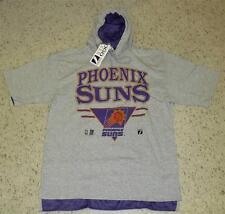 Phoenix Suns VINTAGE 90's shirt hood short sleeve sz. XL Barkley Thunder Dan  KJ