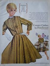 1962 Pendleton Country Clothes Gala State Of Mind Original Ad