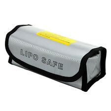 LiPo Safe Battery Guard Charging Protection Bag Explosion Proof 185x75x60mm New