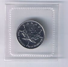 1997 Canada $1 Coin 1/20 ounce platinum Canadian maple leaf UNCIRCULATED RARE
