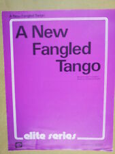 song sheet A NEW GANGLED TANGO Harold Karr