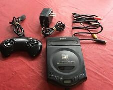 RARE 1994 SEGA Genesis CDX Black Cartridge CD ROM Video Game Console Mk-4121