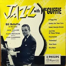Bill McGuffie-Jazz With McGuffie-Philips 8054-10 INCH ENGLAND