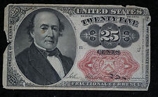 25 Cent Fractional Currency - Fifth Issue