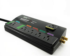 Monster Cable HDP 650G Power 6 Outlet Surge Protector 2160 Joules Rating