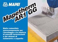Colla rasante mapei mapetherm ar1 gg per cappotto pannelli isolamento termico