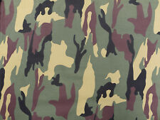 CAMOUFLAGE ARMY DPM PATTERN COTTON FABRIC MATERIAL. 148cm x 200cm