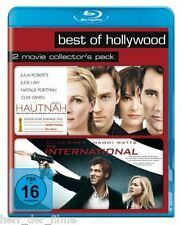 HAUTNAH + THE INTERNATIONAL (2x Blu-ray) NEU+OVP