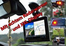 """7"""" LED auto-GPS-appareil de navigation, tablet avec un réel radar-laserpistolenwarner"""