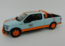 2017 GREENLIGHT 1:64 *GULF RACING* 2015 Ford F-150 Pickup Truck w/TOW HITCH NEW!