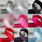22meter Double Sided Satin Ribbon Roll Width 10mm 15mm 20mm, Full Reel 25yards