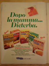 PUBBLICITA' ADVERTISING WERBUNG 1975 PAPPA DIETERBA (AM20)