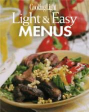 Light and Easy Menus by Cooking Light Magazine Staff and Anne C. Chappell (2001,