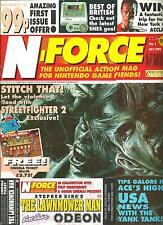 N.FORCE MAGAZINE No1 - JULY 1992 - UNOFFICIAL NINTENDO GAME, GAMING COVERMOUNTED