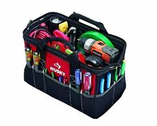 Husky 15 in. Electrician Construction Tool Bag / Tote Tool Storage Heavy Duty