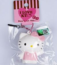 1 pc HELLO KITTY IN PINK scented Squishy Charms Cellphone Straps with TAG