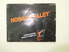 Notice seule du jeu Hogan's Alley pour console Nintendo NES version PAL FR