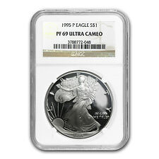 1995-P Proof Silver American Eagle PF-69 NGC