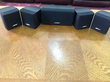 5x Bose  acoustimass speakers Can be used with any AV receiver in excellent cond