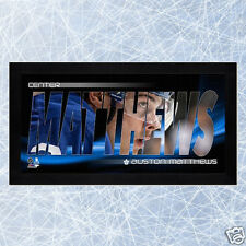 Auston Matthews Toronto Maple Leafs NHL Hockey Mini Frame - NEW