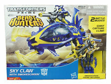TRANSFORMERS PRIME BEAST HUNTERS TOYS - SKY CLAW & SMOKESCREEN ACTION FIGURE
