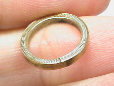 Antique Victorian 9k 9ct Gold Split Ring for seal fob watch key etc