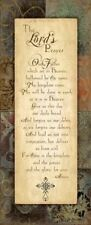 The Lord's Prayer Jo Moulton Art Print 8x20 Sagebrush