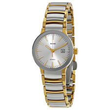 Rado Centrix Silver Dial Two Tone Stainless Steel Ladies Watch R30530103