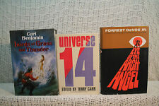 lot 3 old sci-fi adventure EYE OF THE ARCH ANGEL LORDS OF GRASS AND THUNDER ETC