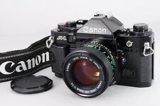 -Near Mint- Canon A-1 35mm SLR Film Camera with New FD 50 f1.4 from Japan 098