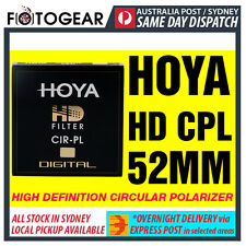 Genuine HOYA HD High Definition Density Circular Polarizer CPL 52mm EXPRESS POST