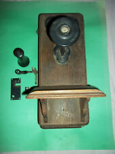 WALL HANGING OLD WIND UP TELEPHONE - RUFF