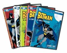 BATMAN : COMPLETE SEASON 1 2 3 4 5 (DC Animated) - DVD - UK Compatible -  sealed