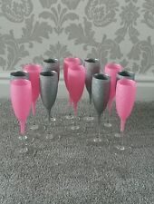 ����glitter wine/ champagne glass  ��set of 12 glasses��