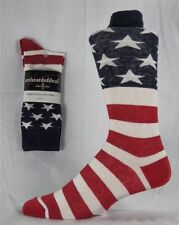 American Flag Men's Cotton Stars & Stripes USA Socks Old Glory Made in USA M1776