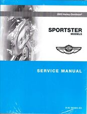 2003 Harley Sportster XL 883 1200 1200C 1200S Low Custom Sport Repair Manual