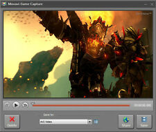 Movavi Game Capture Record PC Games with one click.