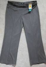 M&S Taupe Coloured Formal Boot Leg Trouser with Belt (NEW) size 16 Short £25.00